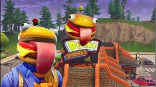 Fortnite Battle Royale: Durr Burger Commercial (Feat. Beef Boss)