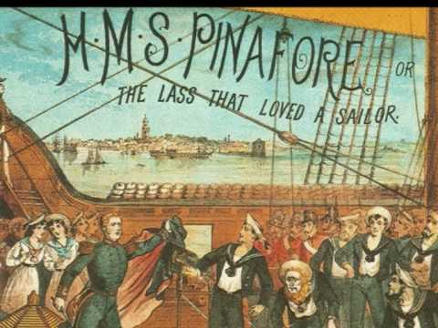 Image result for hms pinafore gilbert and sullivan