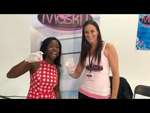 Camille Winbush learns about MaskIT!