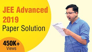 JEE Advanced 2019 Physics Video Solutions | NV Sir | Paper-1 | Motion Kota
