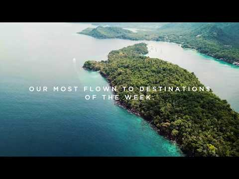 Most Flown to Summer Destinations | 2019