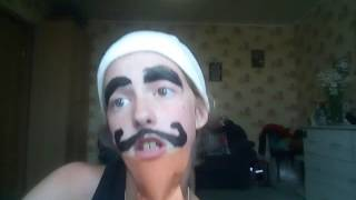 """Клип """"А ты такой красивый с бородой""""."""