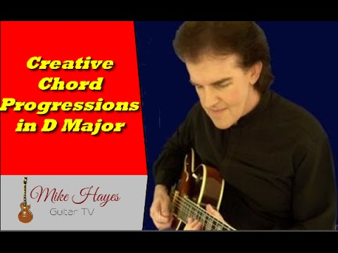 Chord Progressions How To Play Interesting Chord Progressions In D
