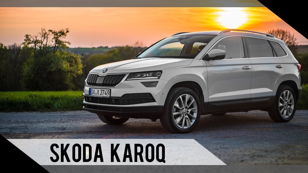 skoda karoq 2018 test review fahrbericht motorwoche youtube. Black Bedroom Furniture Sets. Home Design Ideas