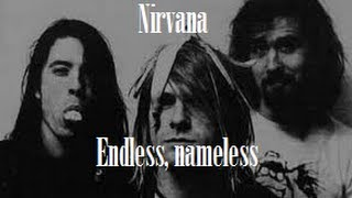 Nirvana - Endless, Nameless (Subtítulos y lyrics)