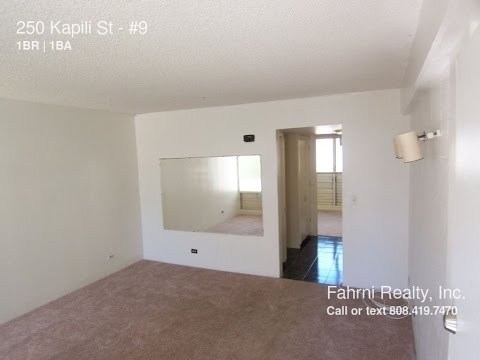 Apartment for Rent in Honolulu, HI 1BR/1BA by Property Management in Honolulu, HI
