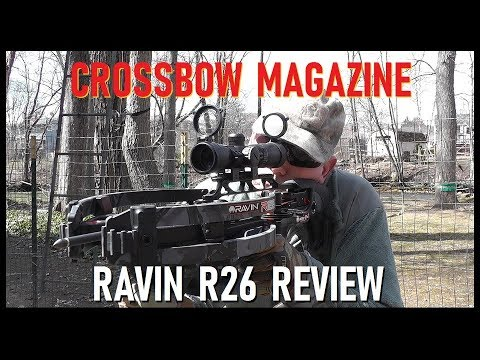 Crossbow Magazine: Ravin R26 Crossbow Review