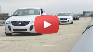 2016 Buick Regal GS Media Presentation   Track and Slalom Test Drive