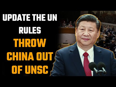 Dandong gives the world an opportunity to kick China out of the UN Security Council