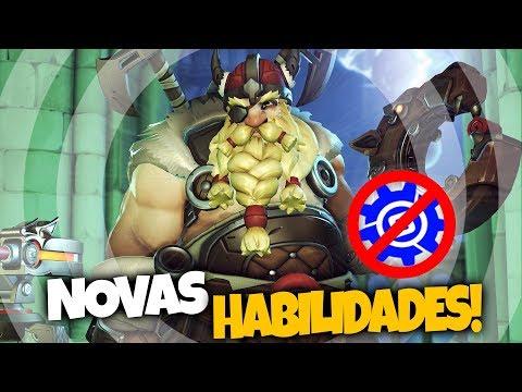 OVERWATCH - TORBJORN NOVAS HABILIDADES REVELADAS!! - Central