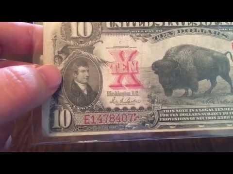 1901 $10 Bison Legal Tender Note
