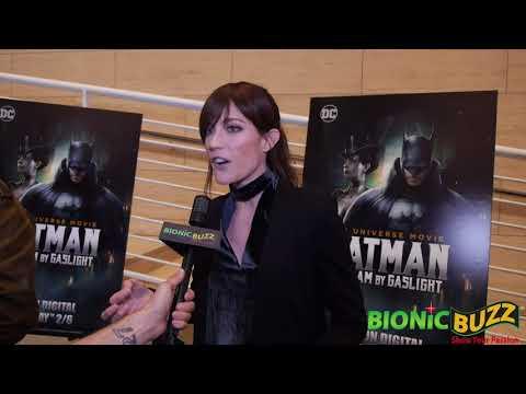 Jennifer Carpenter Interview at Batman: Gotham by Gaslight LA Premiere