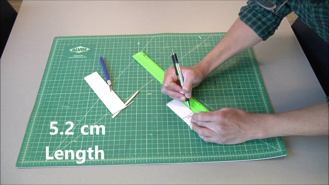 How To Build A Balsa Wood Glider Youtube