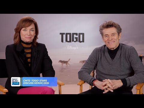 "Willem Dafoe & Julianne Nicholson Chat ""Togo"""
