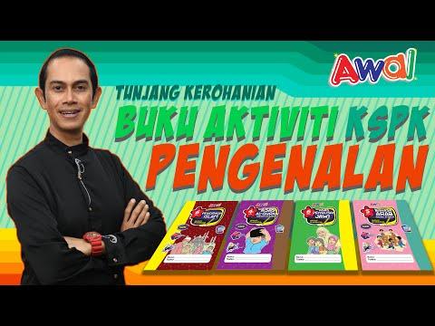 Buku Aktiviti Prasekolah KSPK   Tunjang Kerohanian, Sikap & Nilai