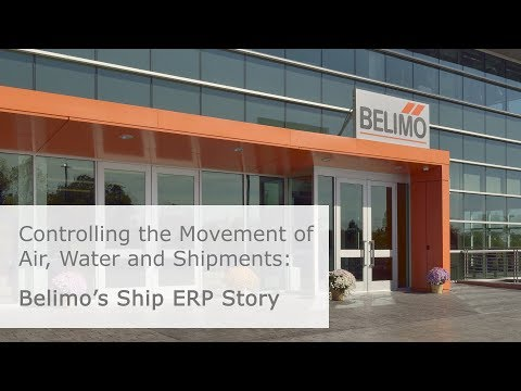 Integrating Ship ERP at Belimo