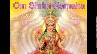Lakshmi mantra - Om Shrim Namaha 108x