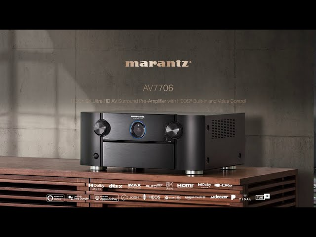 Marantz — Introducing the AV7706 Pre-amplifier