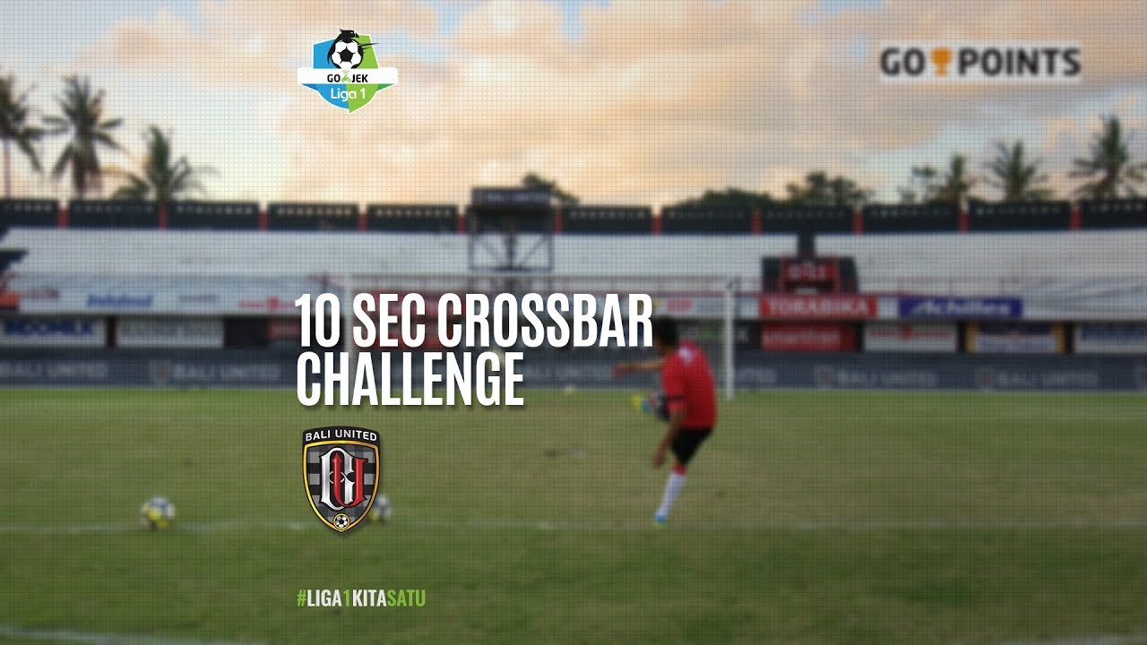[10 Second Crossbar Challenge] Bali United FC 4