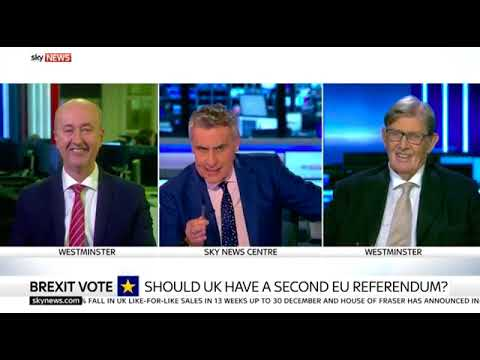 Sky News: Geraint Davies vs Bill Cash on Brexit Final Say