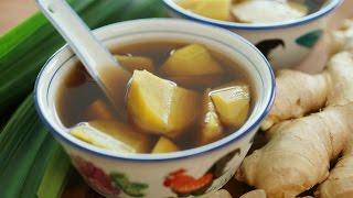 Sweet Potato Soup - 番薯姜糖水