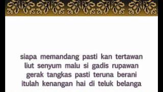 أغنية الملايو التقليدية Malay Traditional Song Zapin Telok Blangah