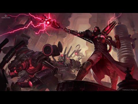 Creator Viktor Mid S6 League of Legends ft. Fizzix