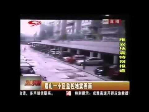 China, Sichuan Province-Earthquake April 20th 2013 Footage