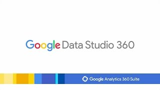 Introduction to Google Data Studio