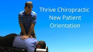 New Patient Orientation   Chiropractor Branson MO