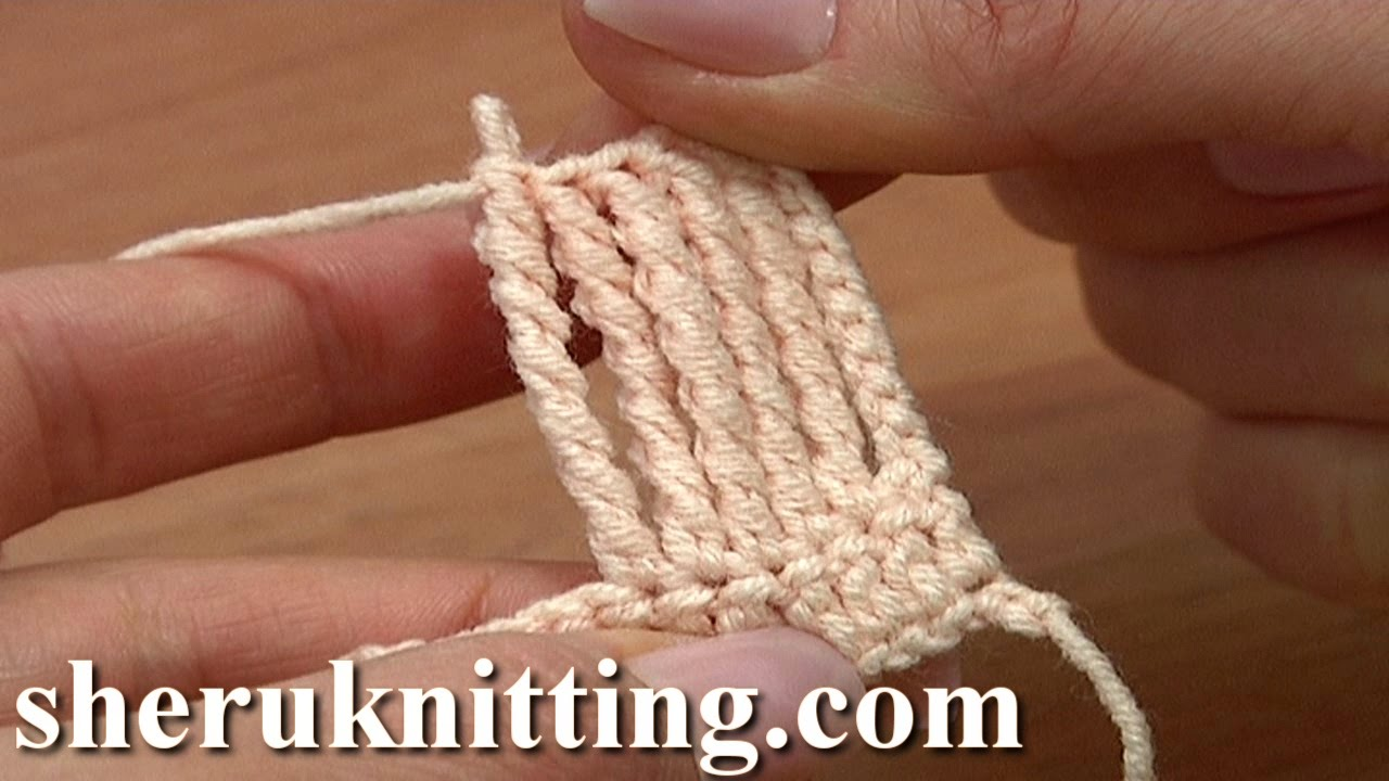 Beginner Crochet Stitches Youtube : ... To Crochet Sextuple Treble Stitch for Beginners Tutorial 15 - YouTube