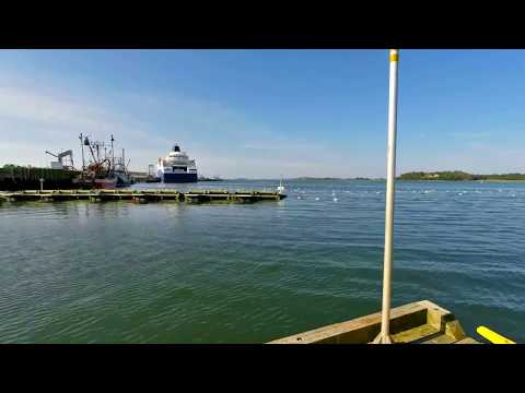 Yarmouth Waterfront Time Lapse