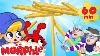 Building Battle - My Magic Pet Morphle   Cartoons For Kids