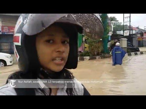 VIDEO Murid Sekolah Dasar Dipulangkan, Setiap Hujan Turun Beberapa Jam Kota Ini