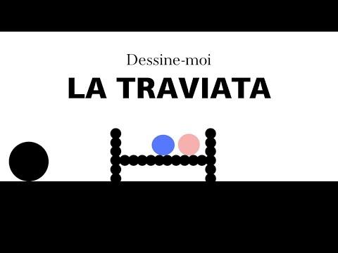 Dessine-moi La Traviata | 1 minute pour comprendre l'intrigue