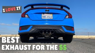 MAPerformance Street Exhaust REVIEW | 2020 Civic Si