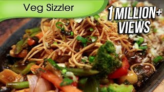 Veg Sizzler In Soya Chilli Sauce | Asian Vegetable Sizzler Recipe by Ruchi Bharani