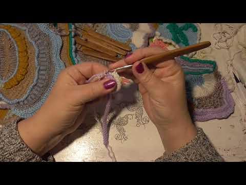 Вязание крючком мастер класс фриформ