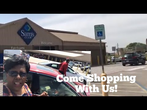 Come Shopping At Sam's Club In Beaumont, Texas With Mary And Joe