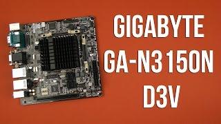 материнская плата Gigabyte GA-N3150N-D3V
