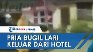 VIRAL Video Pria Bugil Keluar Hotel di Medan karena Diperas 2 Waria, Polisi Ungkap Kronologinya