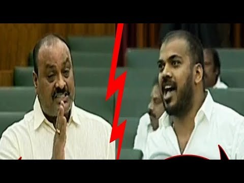 Acham Naidu Vs Anil Kumar Yadav | AP Assembly Sessions 2019 | CVR News