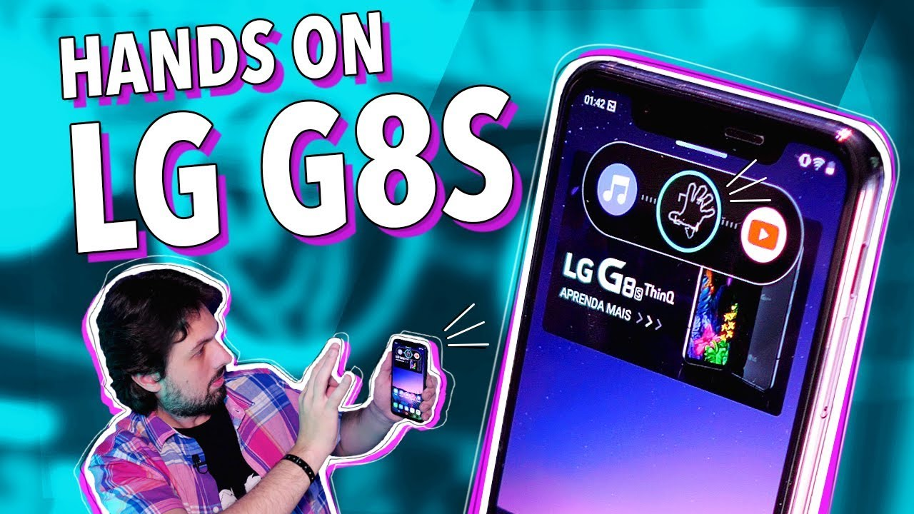 Download LG G8S E OS GESTOS CABULOSOS! (HANDS ON)