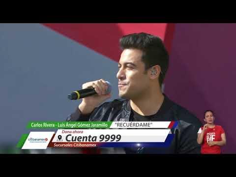 Apoyando al Teletón 2018 con Carlos Rivera