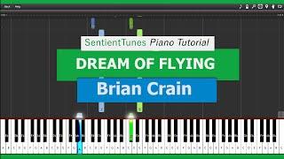 "Video Brian Crain - ""Piano Lessons"" DREAM OF FLYING -  Piano Tutorial HD download MP3, 3GP, MP4, WEBM, AVI, FLV Juni 2018"
