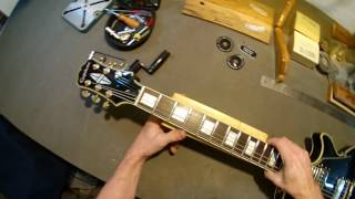 Регулювання прогину грифа у гітари