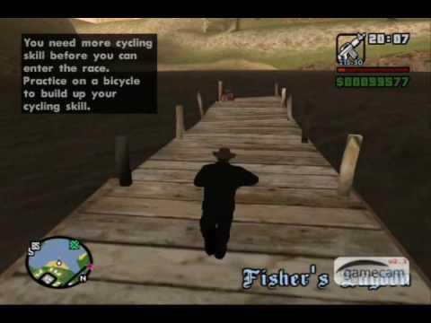 GTA San Andreas Misterix Mod-The Lochness