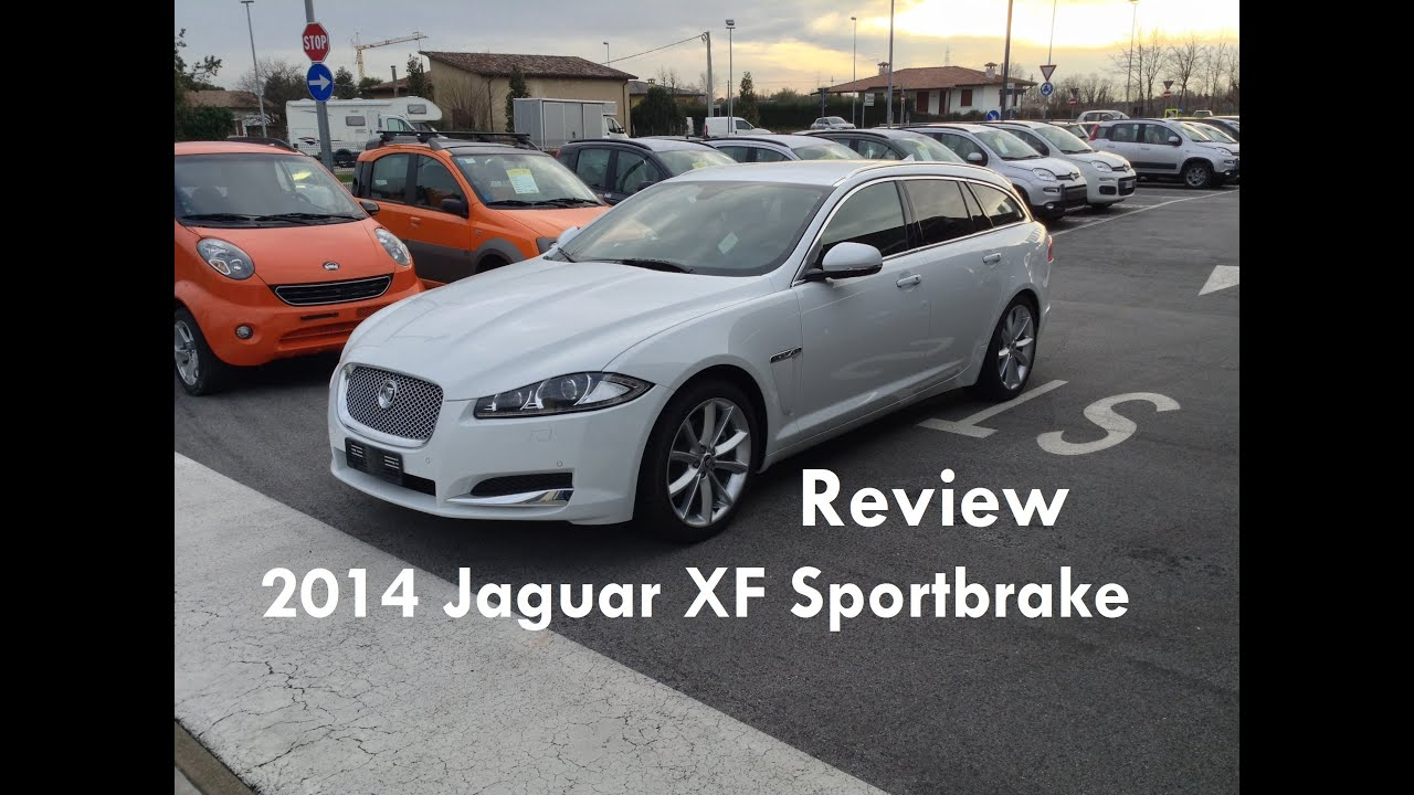 2014 Jaguar XF Sportbrake 2.2 Review   Recensione Nuova Jaguar XF  Sportbrake 2.2 D