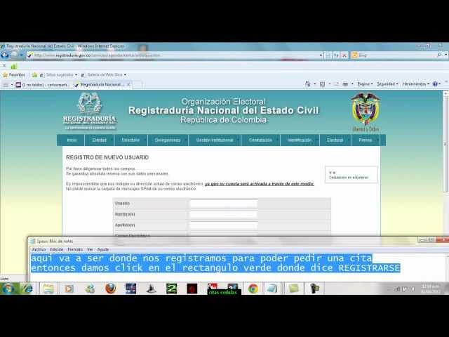 CITAS REGISTRADURIA $3.500 (MEDELLIN, ENVIGADO, BELLO, ITAGUI)RAM.NET