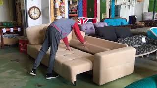 видео БРЕНД диван с механизмом аккордеон